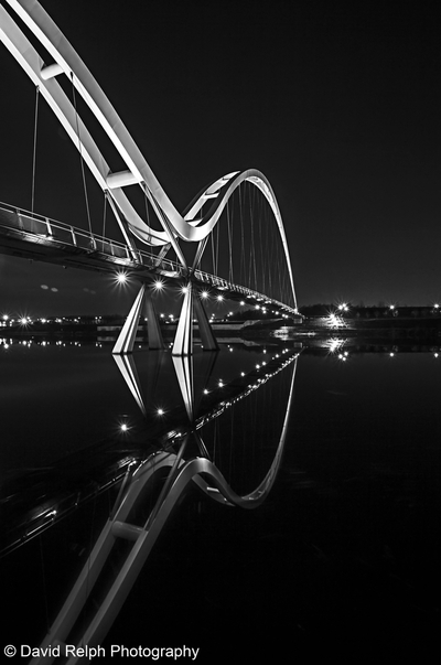 Infinity At Night In Mono