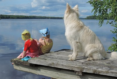 The Guardian of the Lake on Duty
