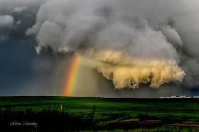 The Tornado Cloud in Sacramento....