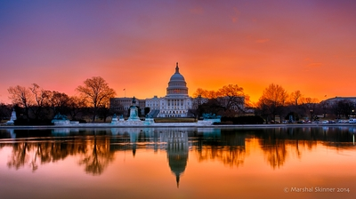US Capitol at Dawn
