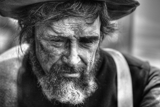 Old Man by mojo4447 - Beards and Mustaches Photo Contest
