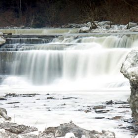 Taughannock Falls is located in Ulysses, NY, part of the popular Finger Lakes Region of central New York. The falls is part of Taughannock State ...