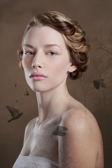 Beauty Editorial I by Laska - Dramatic Portraits Photo Contest