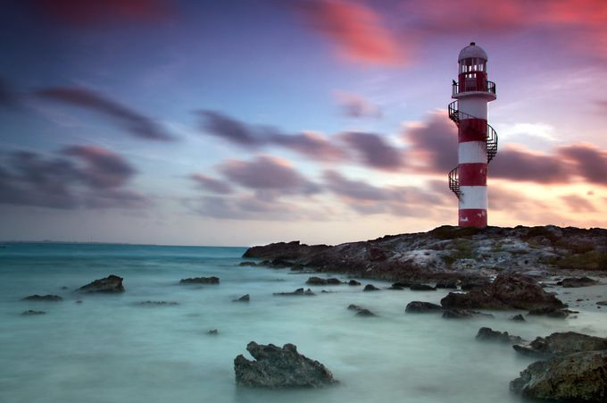 Punta Cancun lighthouse by danielbaraggia - The Emerging Talent Awards
