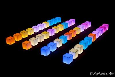 40 hexaèdres