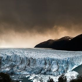 Most of the time, weather at the Perito Moreno Glacier is