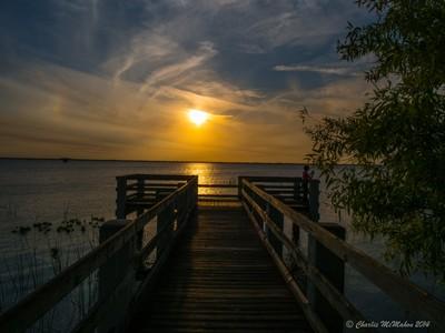 Lake Washington Park Sunset