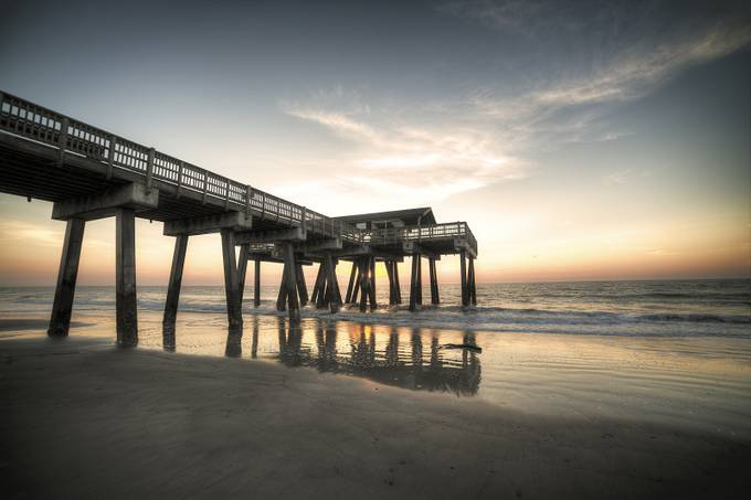 Tybee Island by Gdhiman - The View Under The Pier Photo Contest