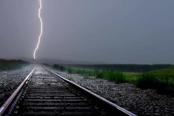 Track The Light by thomaszakowski - Empty Railways Photo Contest