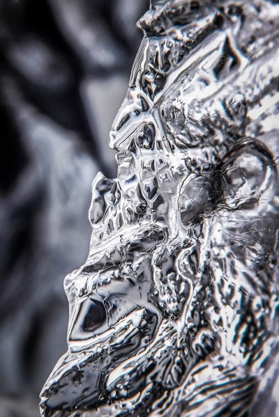 Icy closeup