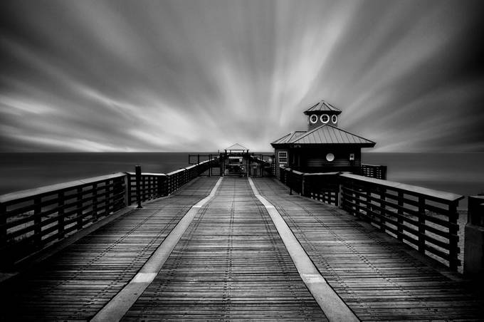 Juno Pier by AddisonUyPhotography - Awesomeness In Black And White Photo Contest