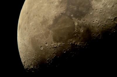 Waxing Gibbous Moon 4-7-2014