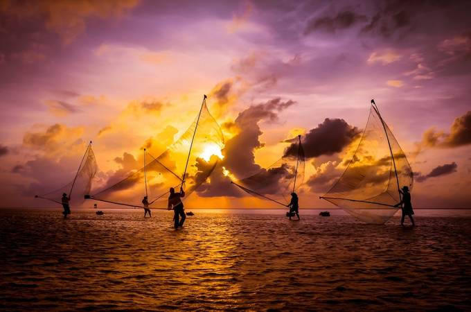 Dance on the sea by thodinh - The Emerging Talent Awards