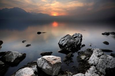 View on the Geneva lake | Vue sur le léman