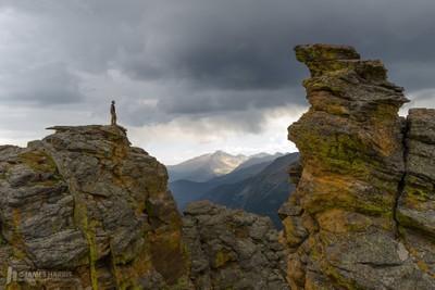 Longs Peak from Trail Ridge Road