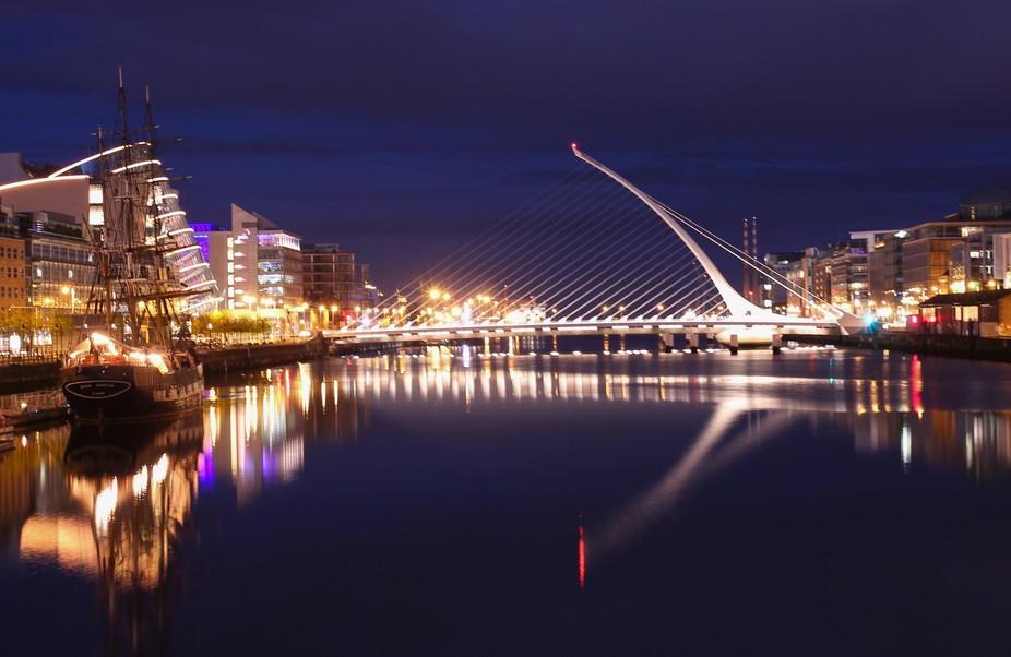 Dublin City - Samuel Beckett Bridge