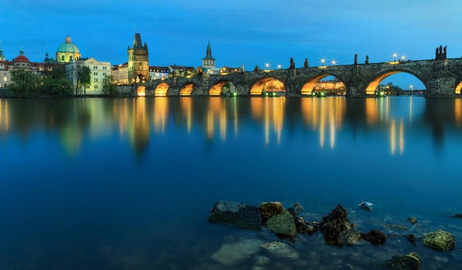 Prague, Charles Bridge.