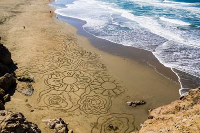 Artistic Beach
