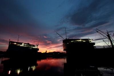 Sunset @ Sunda Kelapa Harbour