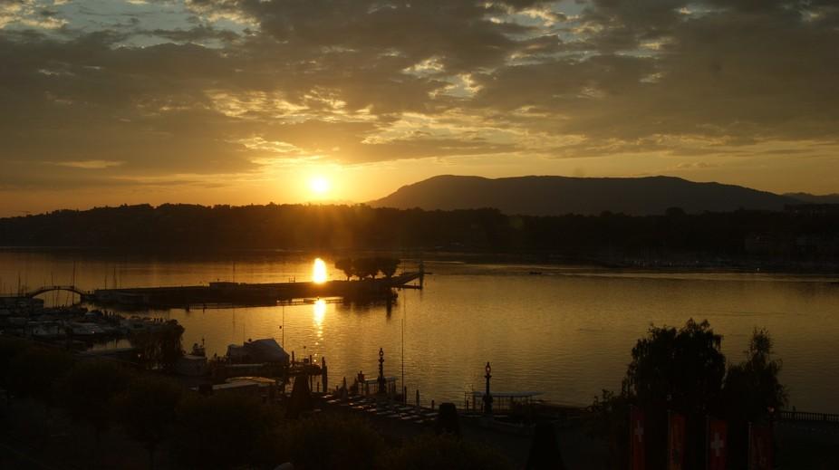 Geneva in the morning