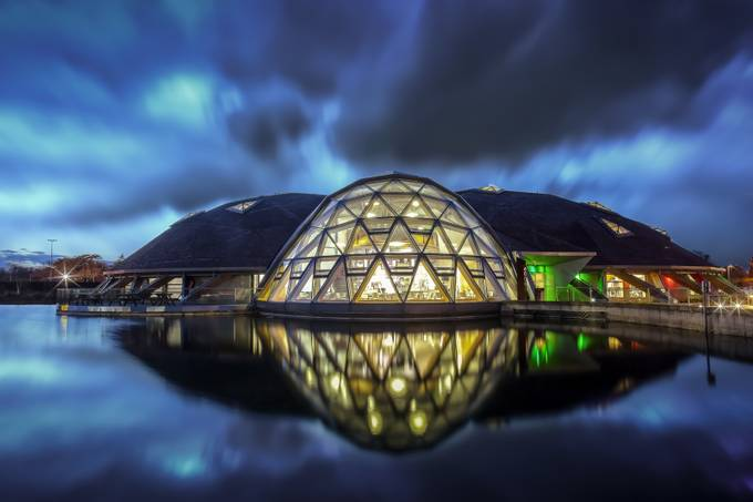 Pods - Scunthorpe by martynleaning - Architecture And Reflections Photo Contest