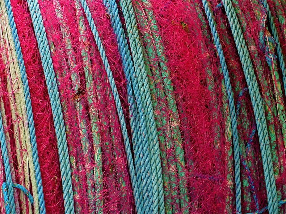 \'Rainbow Rope\', Port Fairy Wharf, Vic, Aust.
