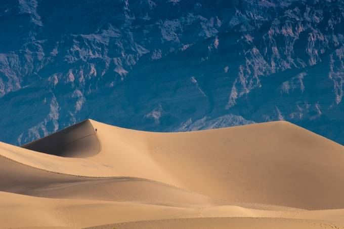Death Valley by Silverdarkness - People In Large Areas Photo Contest