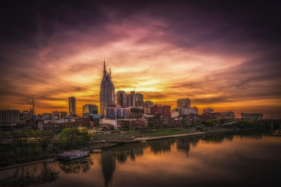 Nashville, Sunset