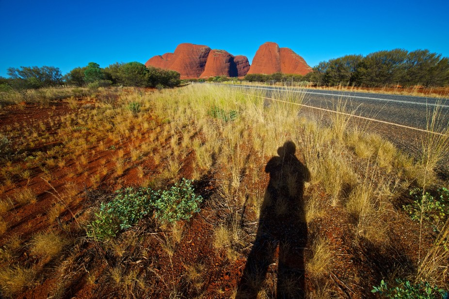 junius wong_self portrait at the Olgas (Kata Tjuta), Central Australia.  (juniuswong.com)