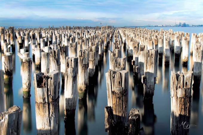 Princess Pier at Port Melbourne by codmax - More Of The Same Photo Contest