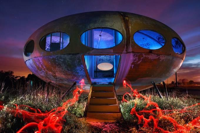 Redneck UFO by jamesnelms - Science Fiction Photo Contest