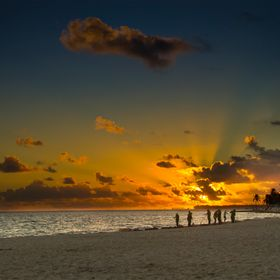 Sunrise in the Dominican Republic