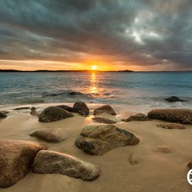 Andrew Croucher Photography - Trial Bay Sunset