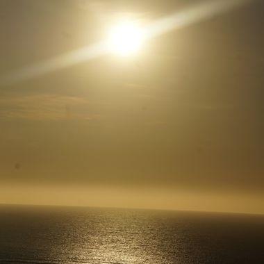 Exmouth Sun set