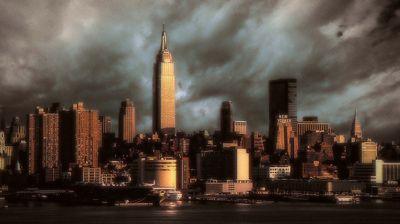 Manhattan: Stormy Sunset 169