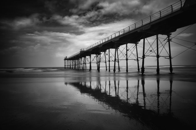 Saltburn Pier by SteveCheetham - Standing At The Edge Photo Contest