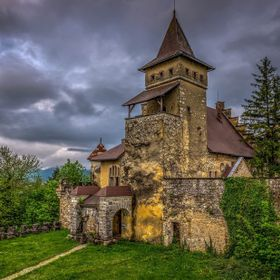 Ostrozac Castle, Bosnia and Herzegovina  HDR Photo