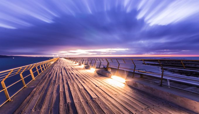 Lorne Pier by npenhall - Cloud Painting Photo Contest