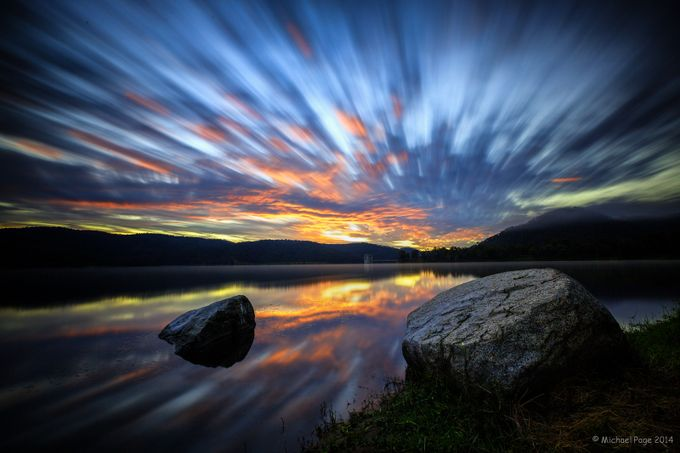 Lake Cressbrook Sunrise by TwoCatsPhotography - Cloud Painting Photo Contest
