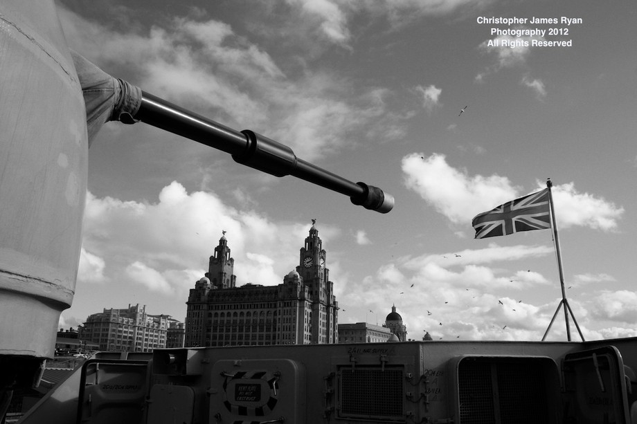 Taken on board HMS Liverpool in 2012 before she got decomissioned.     Part of the Urban Project ...