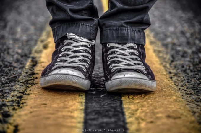 Walk The Line by Joshua_N_Lopez - Clever Angles Photo Contest