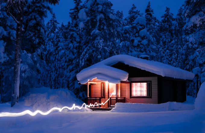 Back to the chalet by maximeplantady - Light It Up Photo Contest