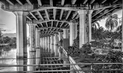 Under the Bridge B&W