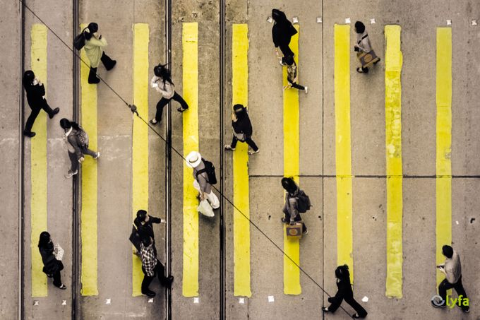 Crossing by olyfa - Shapes and Lines Photo Contest