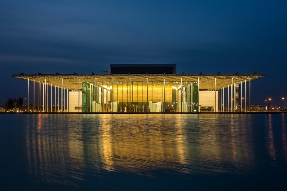 The Bahrain National Theatre, Dusk Time