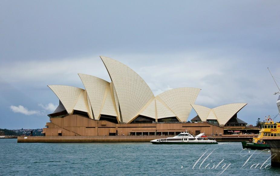 The glory of Sydney Opera House, Australia