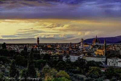 Sunset on Florence