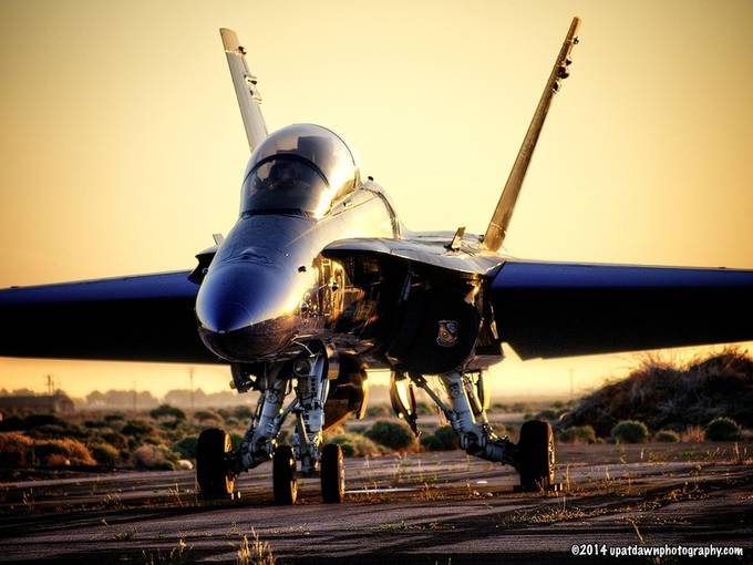 Blue Angel #7 at Sunrise by stevealbano - Aircraft Photo Contest