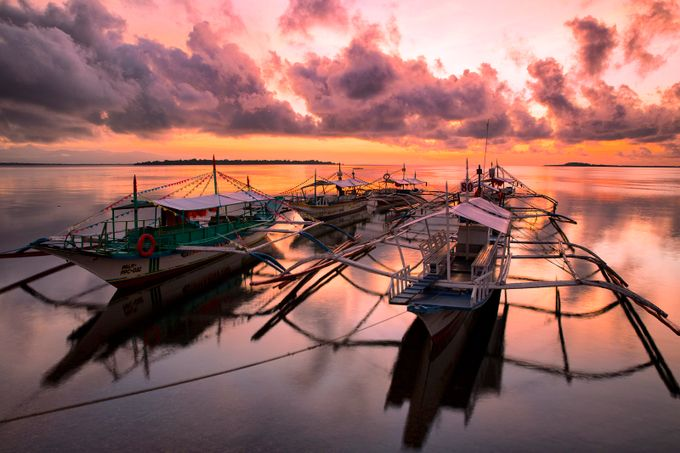 One Tranquil Morning At Honda Bay by GigiJim08 - Photos With Filters Photo Contest
