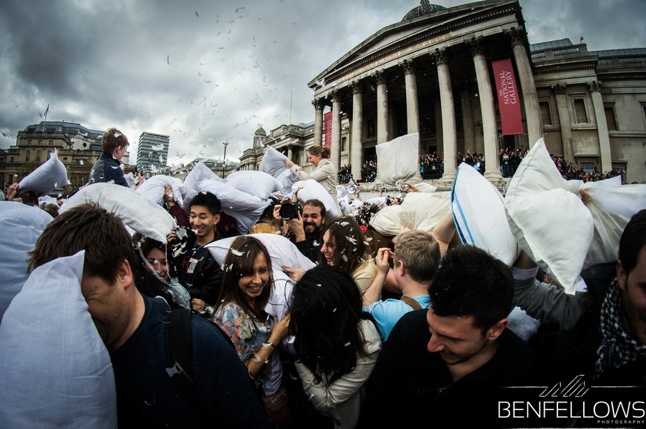 World Pillow Fight Day 2014